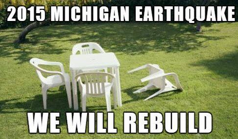 Michigan Earthquake 2015